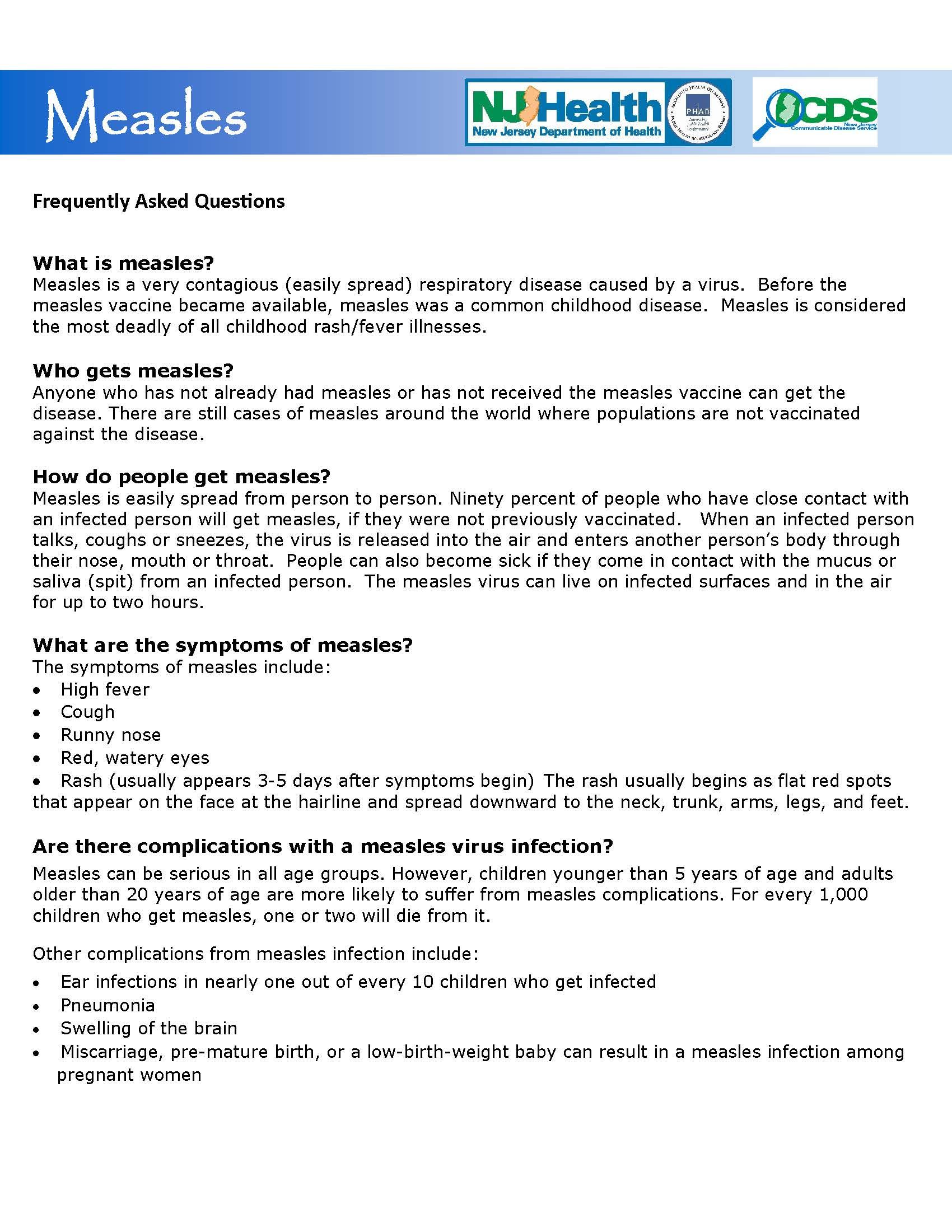 measles faq Page 1