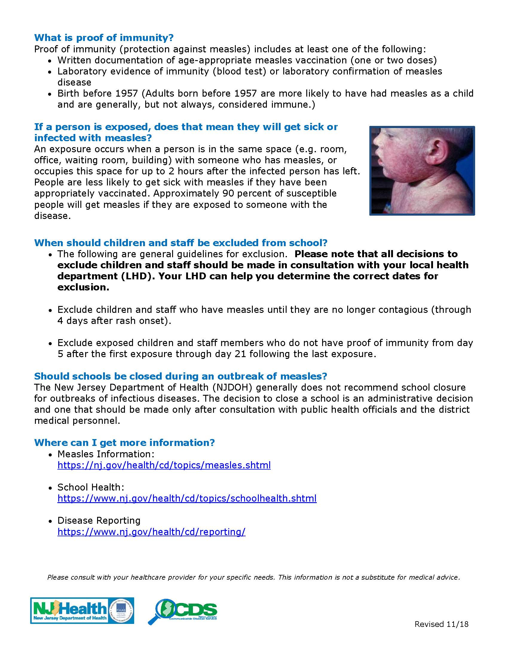measles guidance schools Page 2